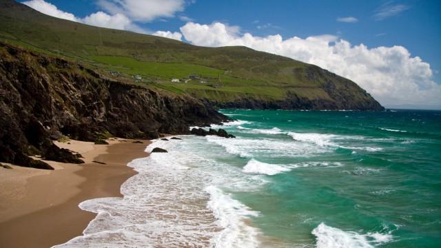 A beautiful coastal scene at Inch, Co. Kerry, Ireland
