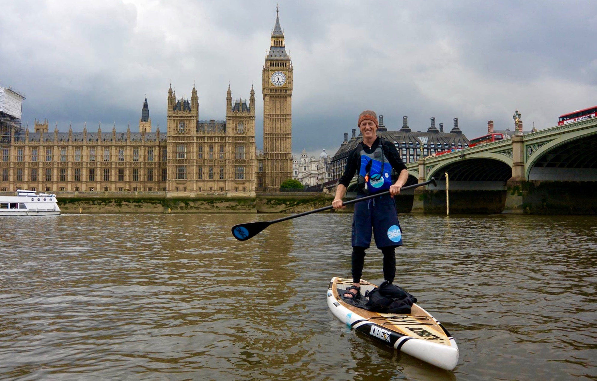 Big Ben Challenge and Big Ben Race 2017: Organiser Paul Hyman Presents one of London's Finest SUP Events