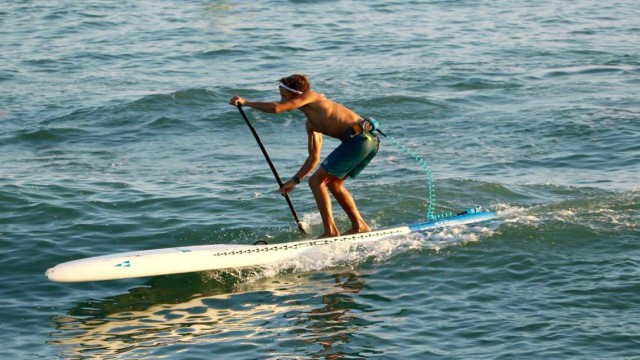 One of The Paddle Academy's star riders practicing ahead of the 2017 Pacific Paddle Games