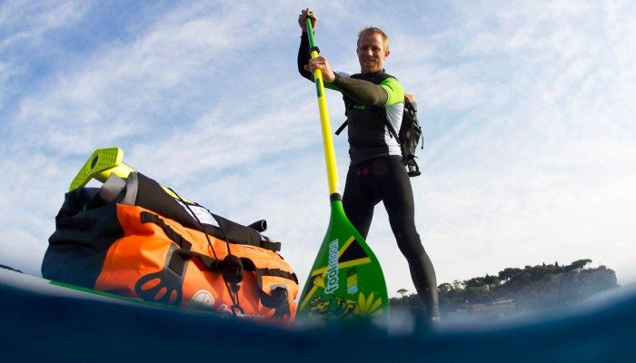 Max Houyvet : de Cannes à Saint-Raphaël en Stand Up Paddle Fool Moon