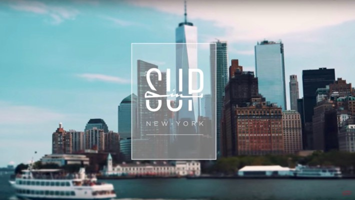 Making Waves in the Big Apple: Jeremy and Ludovic Teulade in Oxbow's New SUPin Video Series