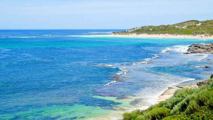 Surfers' Point by Margaret River, near Perth, Western Australia