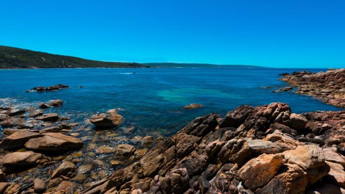 View of Yallingup, near Perth, Western Australia