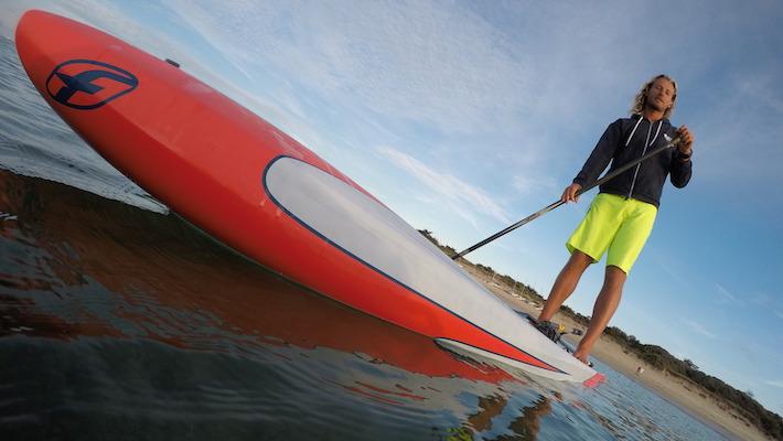 Tour de l'île de Ré en Stand-Up Paddle – Nouveau record pourDimitriGeorges
