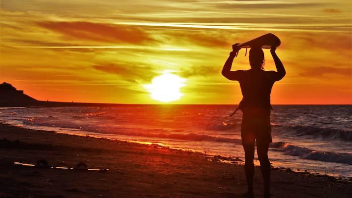 Dimitri Georges au sunset
