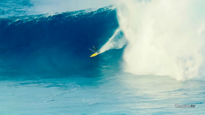 Kai Lenny and Mo Freitas Discuss Riding Jaws on a SUP Board: The Bigger the Better!