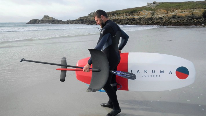 Greg Closier tests out the all-new 2017 Takuma Concept equipment in Brittany, France