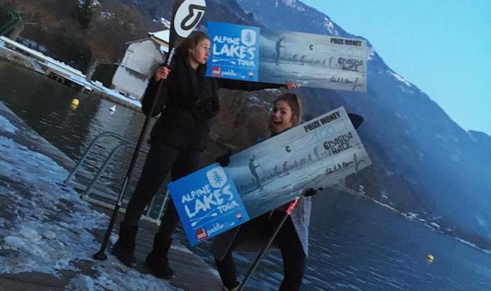 Inès Blatge et Mélanie Lafenêtre