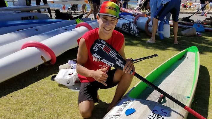 Chicken Run! Noic Garioud 1er SUP 14′ et dans le Top 5 à The Doctor en Australie