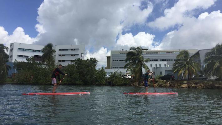 Du SUP à l'UFR STAPS de Guadeloupe