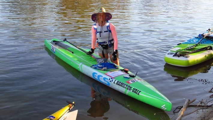 Joanne Hamilton-Vale Queen of Ultra Endurance Paddling