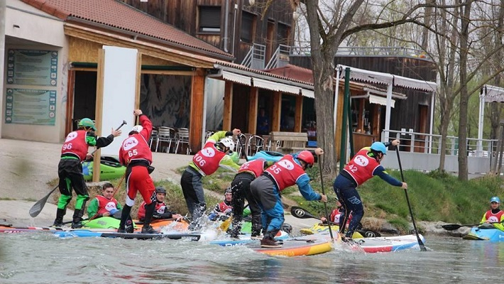2018 SUP River Tour 5 étapes au programme!