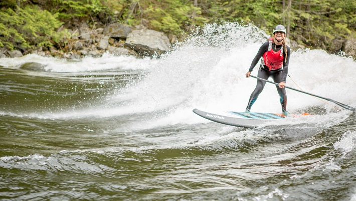Carving Up the River: Spotlight on Brittany Parker
