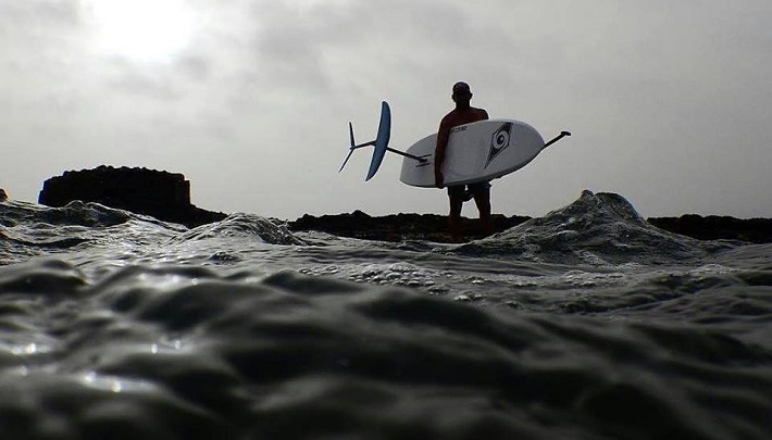 SUP Foil: Flying high with Eric Terrien