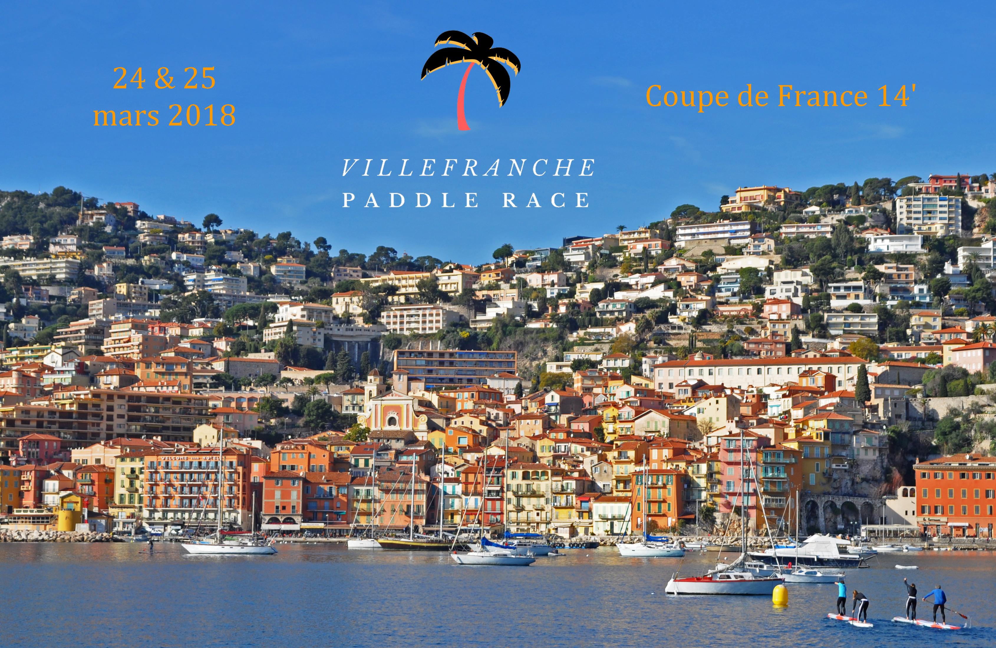 Nouvel événement en Med' : la Villefranche Paddle Race