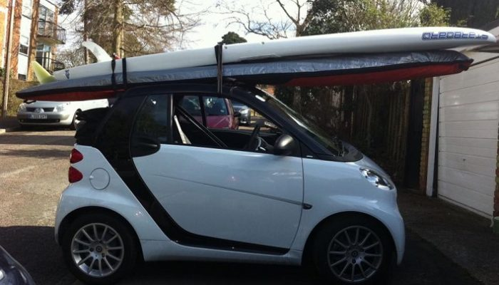 How to transport your SUP board