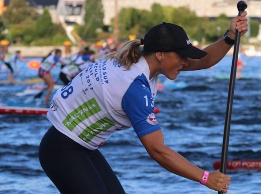 Jersey Paddler Vee Jay Conquers All!