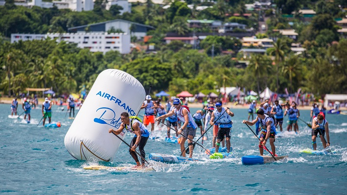 Air France Paddle Festival Results: Marcus Hansen Wins, Sonni Honscheid Retains Title!