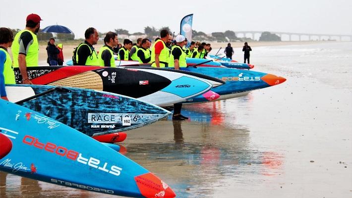 Résumé: Coupe de France SUP Race 12'6 sur l'île de Ré