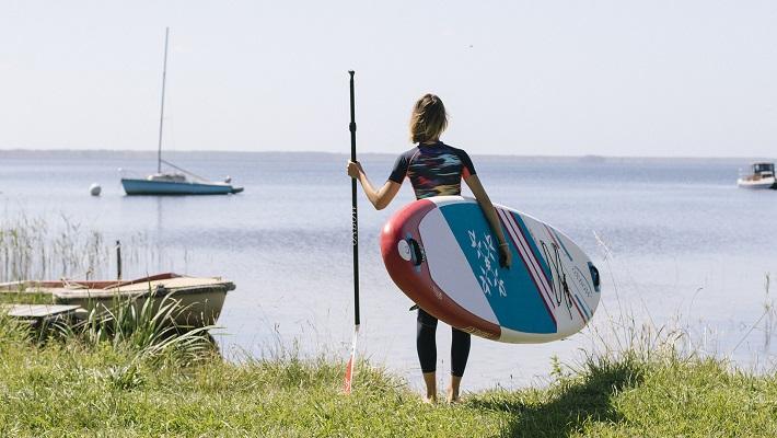 Le SUP Yoga avec Julie Dumoulin et OXBOW
