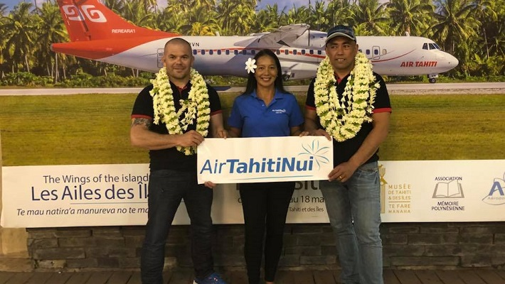 Sébastien Le Meaux Prêt à Livrer Bataille à la Air Tahiti Nui Paddle Royale Race
