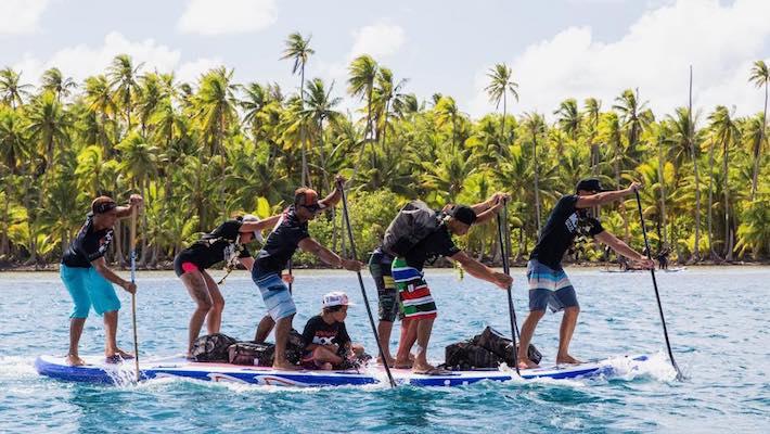 Waterman Tahiti Tour 2018 – Big SUP Explorer – Teahupoo