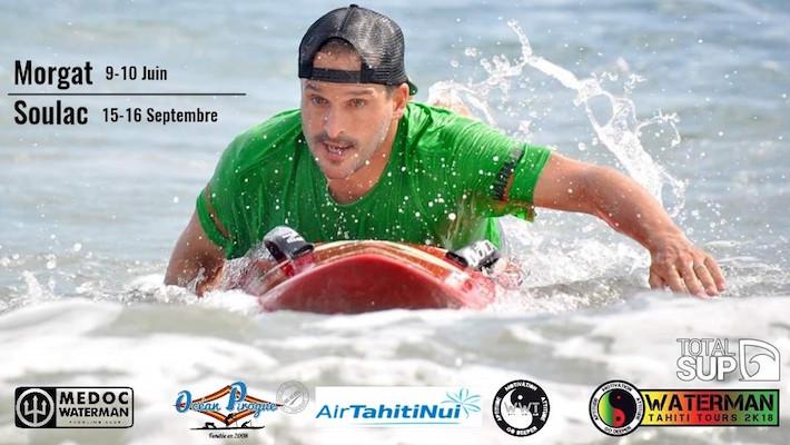 Le Morgat Waterman Challenge Inaugure les Waterman Challenges 2018 avec un Voyage pour le Watermana à Tahiti à la Clef