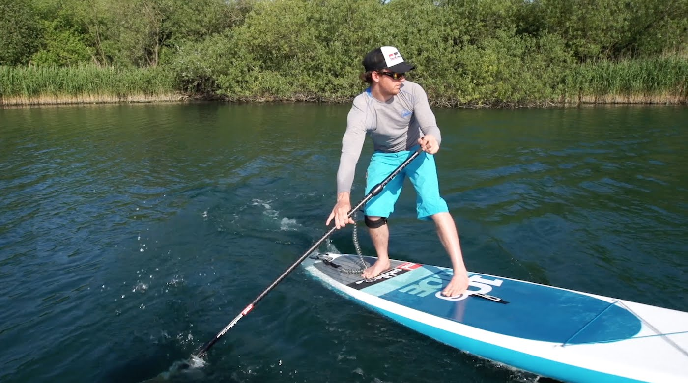How to do a pivot turn on a stand up paddle board?