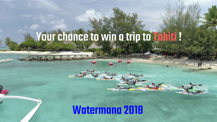 Participate in the Hossegor Paddle Games and Win a Trip to the Watermana in Tahiti!