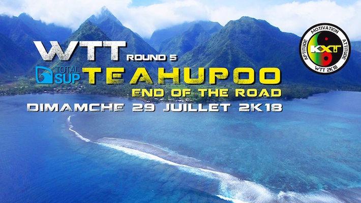 Waterman Tahiti Tour 2018 – Final Round – Teahupoo