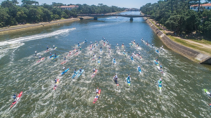 Action Packed Hossegor Paddle Games 2018!