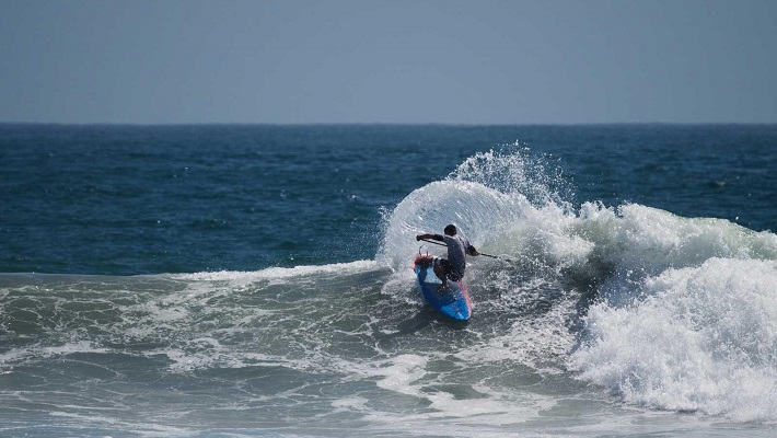 Starboard Rider Sean Poynter Scores a Magnificent 9.87 and Books His Ticket to the ISAs!