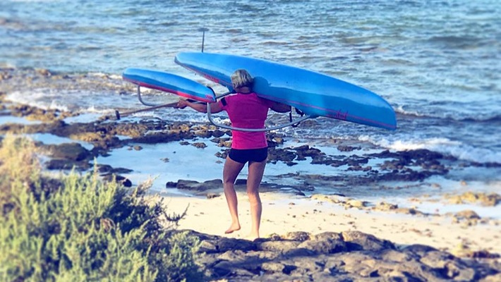 Sonni Honscheid Switching UP SUP Training with the OC1 Woo Feline