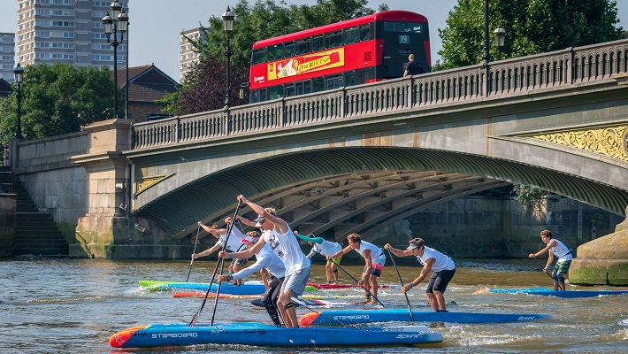 Full Round of the London SUP Open, the 1st Stop Of The APP Tour!