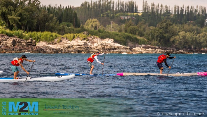 Maui2Molokai SUP Race Results: Connor Baxter King of the Run!