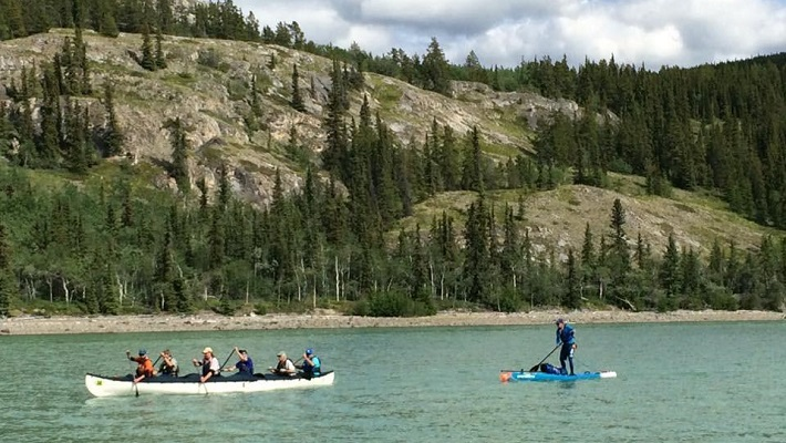 Starboard Rider Bart De Zwart Wraps Up His 715km Yukon River Quest