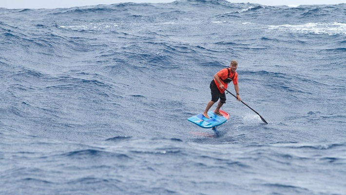 M2M Crossing: Starboard Rider Zane Schweitzer SUP Foils to Victory!