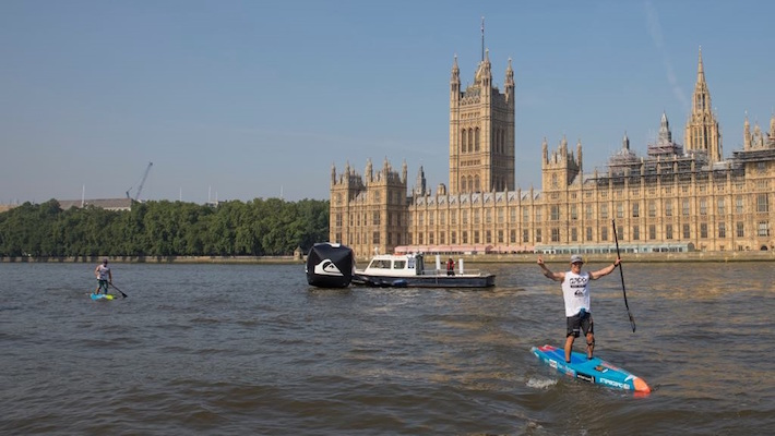 Packed Line Up for The London SUP Open