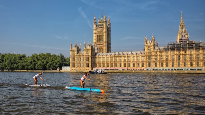 Yuka Sato and Michael Booth Defeat a Field of World-Class Athletes on the River Thames