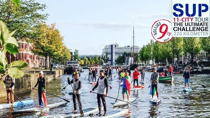 LIVE GPS TRACKER – SUP 11 City Tour 2018 – 5 Day Event