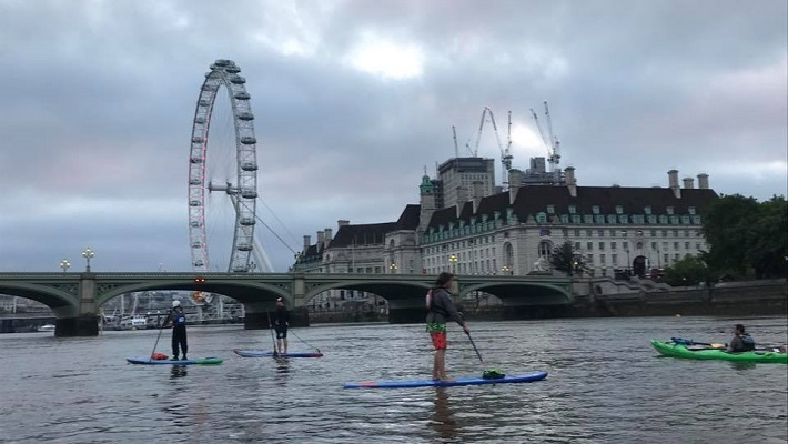 Active 360 London Crossing and Big Ben Challenge: Paddling Through the Heart of London!