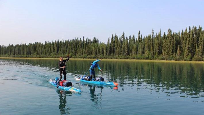 Starboard Rider Bart De Zwart Completes Epic 1000 Mile Yukon Paddle!