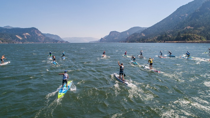 Recap of the 8th Annual edition Naish Columbia Gorge Paddle Challenge!