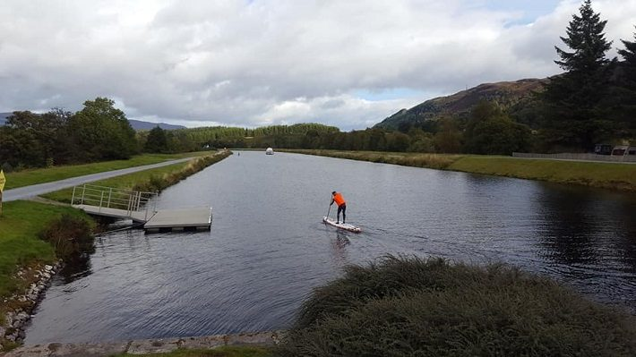 UK SUP Endurance Series: The Monster that was Loch Ness
