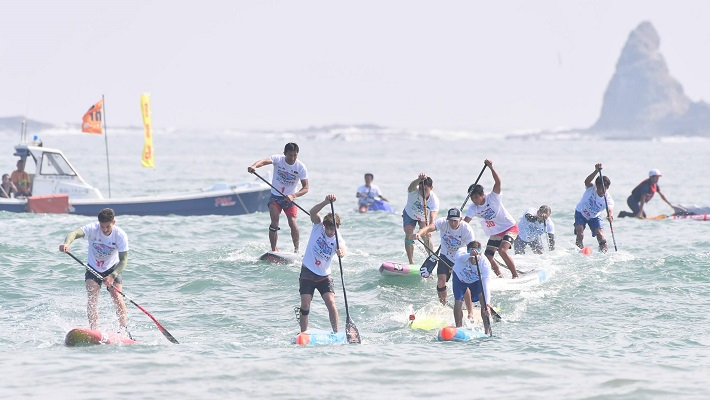 Mynavi SUP Japan Cup: Typhoon Swell Tests Paddlers!