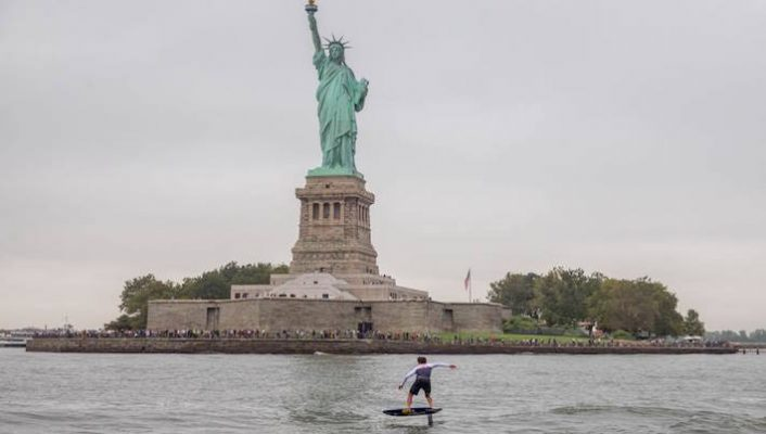 LIVE – New York SUP Open – Paddle Around the Statue of Liberty – APP World Tour Stop #2