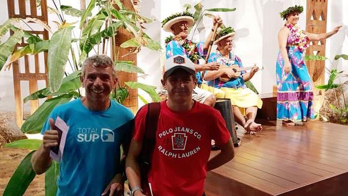 Le rêve polynésien de Jules Langlois exaucé au Waterman Tahiti Tour de Teahupoo
