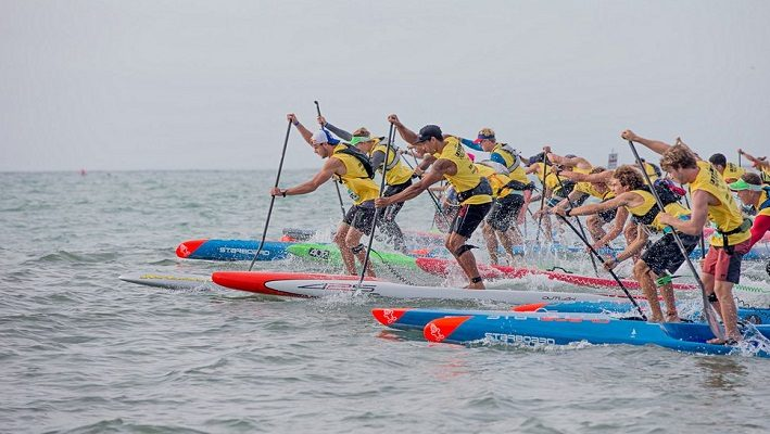 Day 1 Pacific Paddle Games Recap: Lincoln Dews and Fiona Wylde Lift the Crown of Doheny