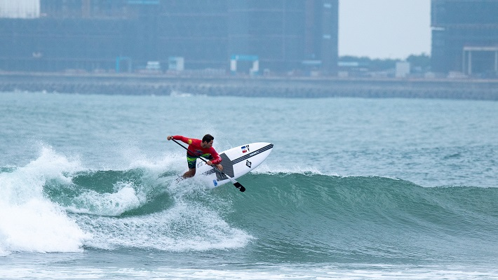 ISA World SUP and Paddleboard Championship Day 1: Results of Men's SUP SURF Round 1