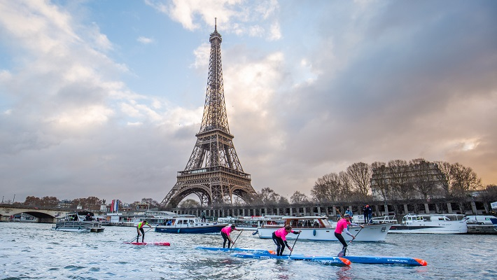1,2,3 for Starboard at the Paris SUP Open!
